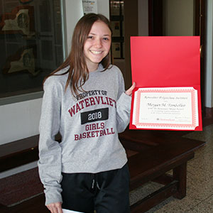 picture of student recipient of Rensselaer Medal