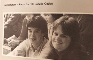 picture from Watervliet High School Class of 1984 yearbook