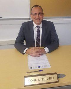 picture of Donald Stevens next superintendent of Watervliet City School District
